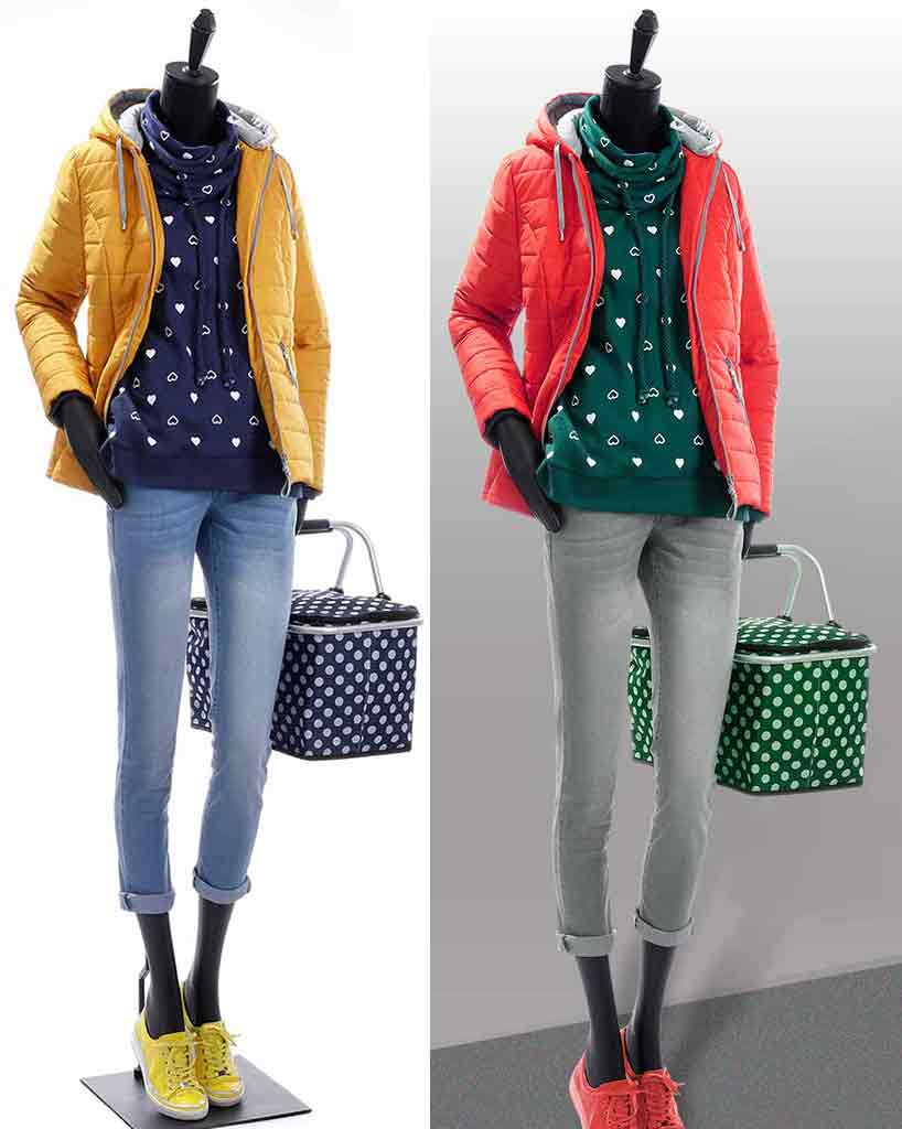 Image clipping path sample after and before